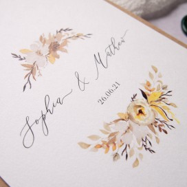 Ellie-and-Liv-Autumn-Harvest-wedding-stationery-Save-the-Date-initials-detail