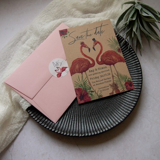 Ellie-and-Liv-Bespoke-wedding-stationery-save-the-date-and-envelope-and-sticker